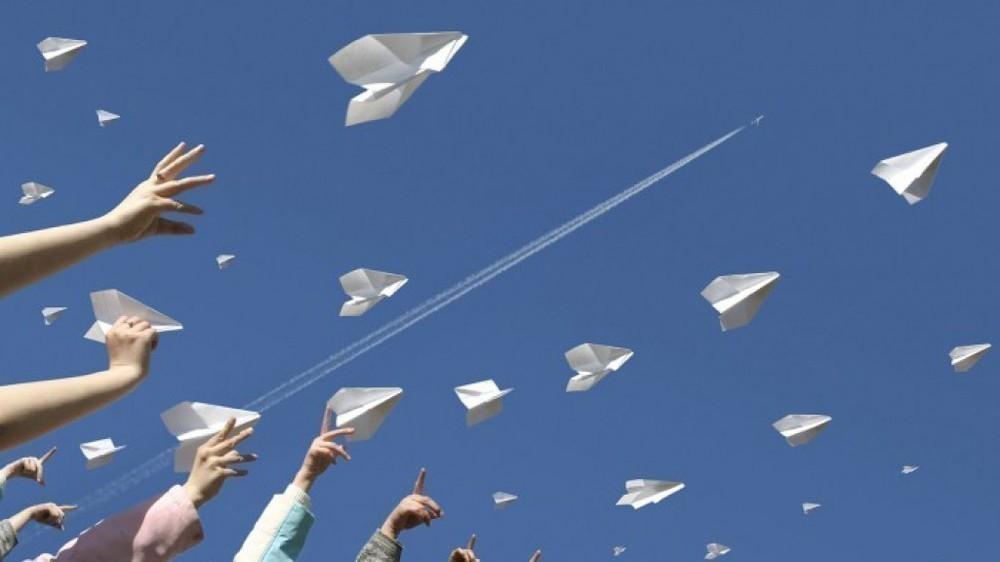 В Ставрополе во Всемирный день космонавтики в небо взмоют сотни бумажных самолетиков
