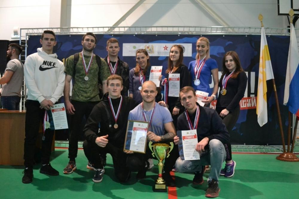 В Ставрополе прошли соревнования «А, ну-ка, парни!»