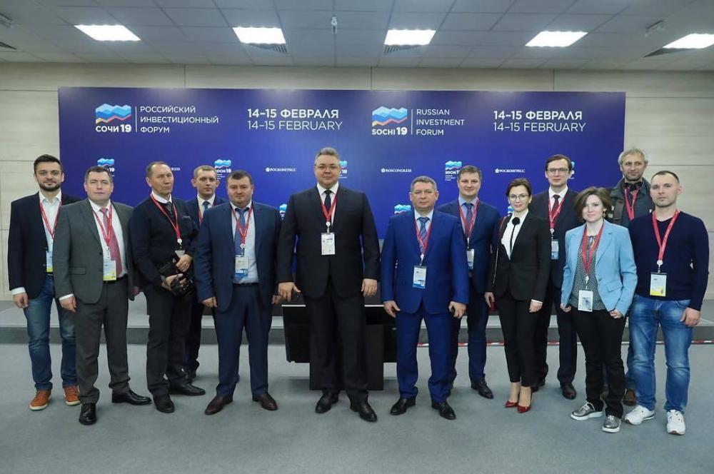 «От слова к делу» - губернатор Ставрополья посетил форум «Сочи - 2019»