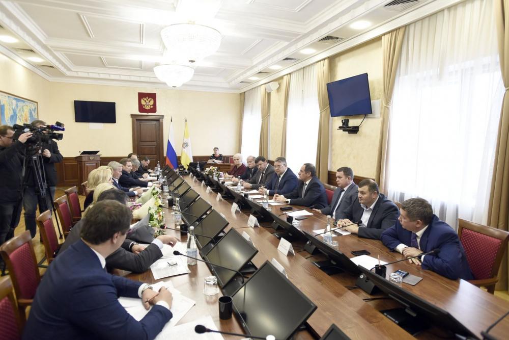 Губернатор Ставрополья встретился с членами Совета Федерации