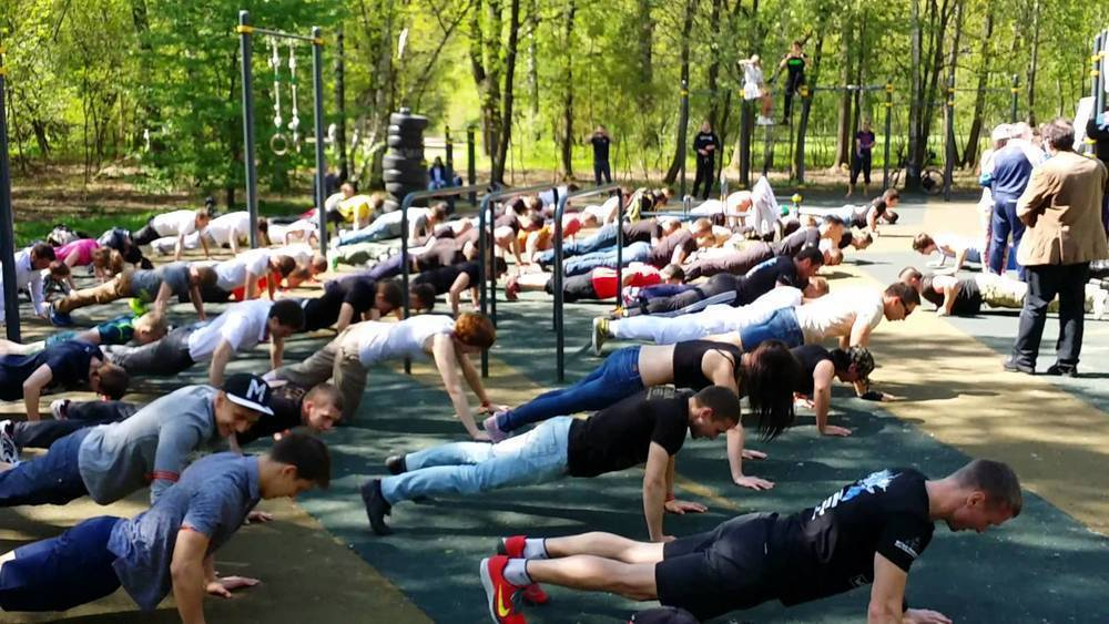 Ставропольские спортсмены почтят дни войны отжиманиями