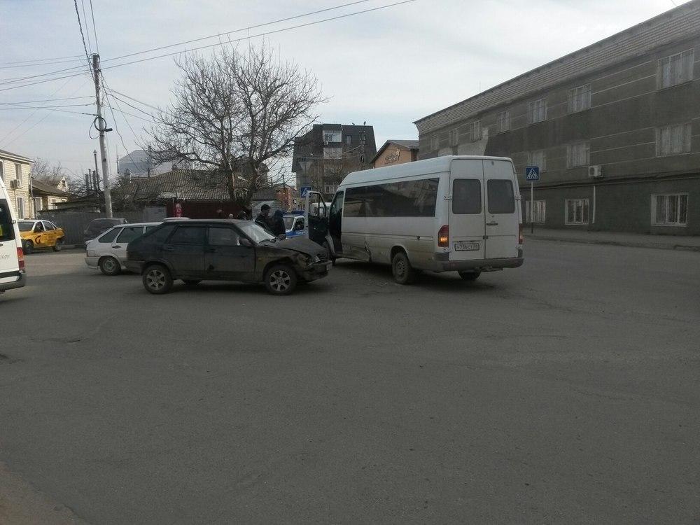 В Ставрополе произошла довольно странная авария