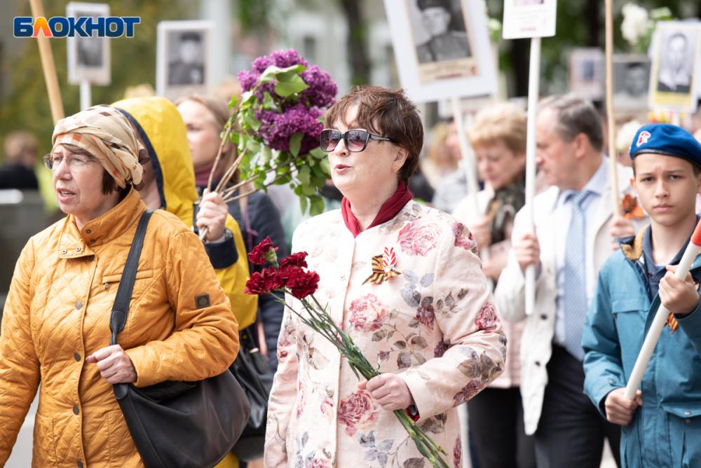 В Ставрополе во время шествия «Бессмертного полка» женщина нашла сестру