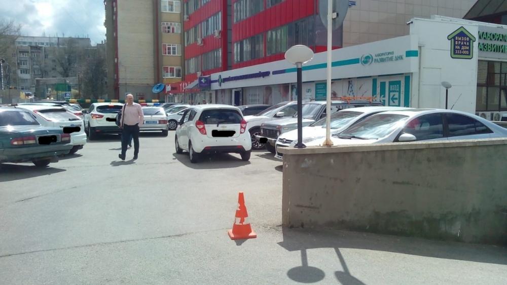 В центре Ставрополя произошло ДТП с ребенком