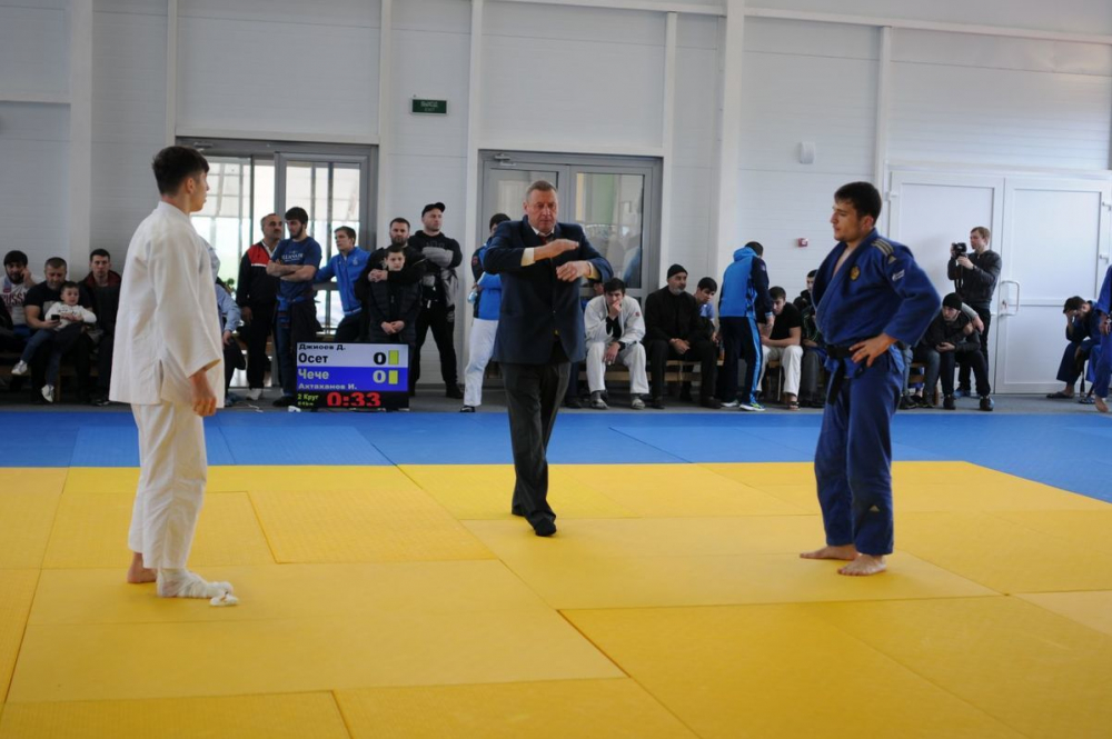 На Ставрополье проходят соревнования по дзюдо всероссийского уровня