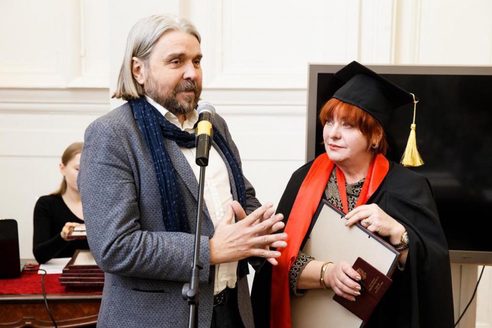 Ставропольчанку удостоили звания «Почетный член Российской академии художеств»