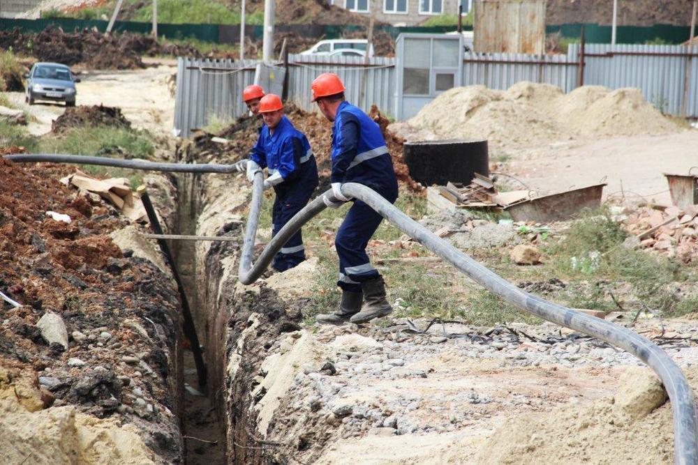 Завершено строительство газопровода для новой поликлиники в Ставрополе