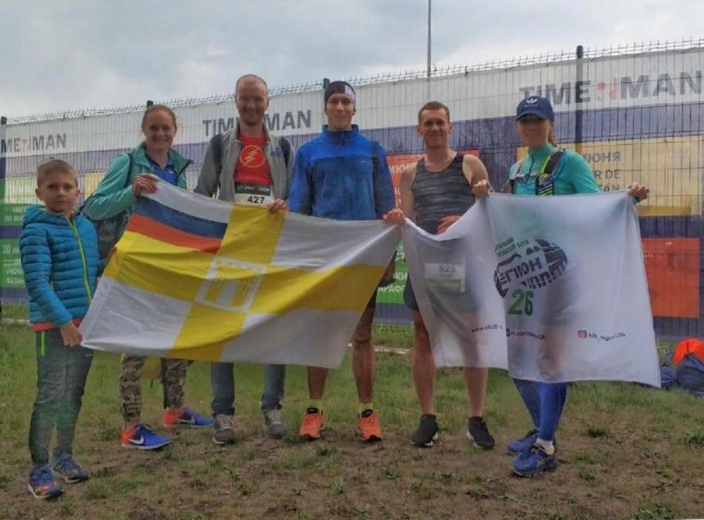 8-летний ставропольчанин принял участие в Казанском марафоне