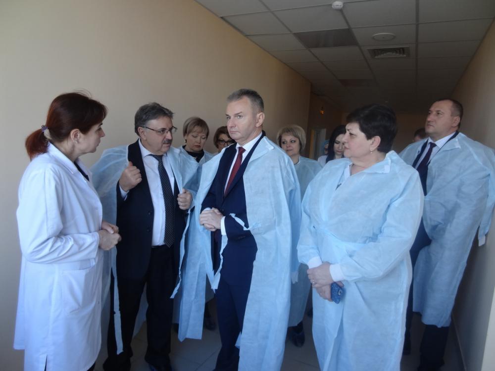 Медучреждения Ставрополя проверила комиссия Федерального Собрания