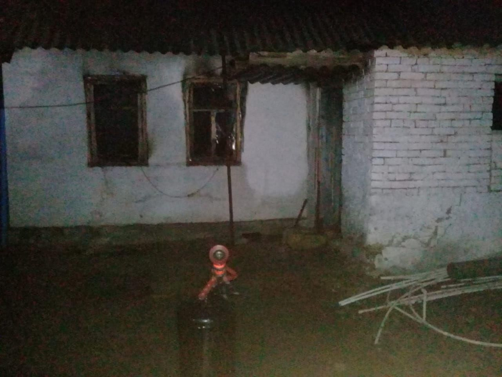 При пожаре на Ставрополье погиб мужчина