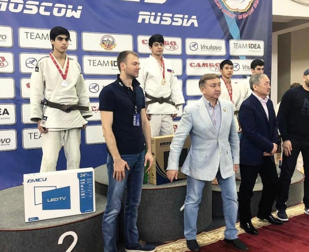 Дзюдоист со Ставрополья победил на международном турнире в Москве