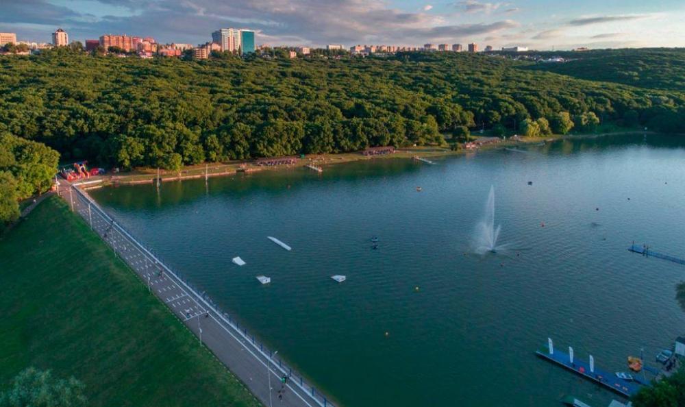 В Ставрополе Комсомольское озеро готово к купальному сезону