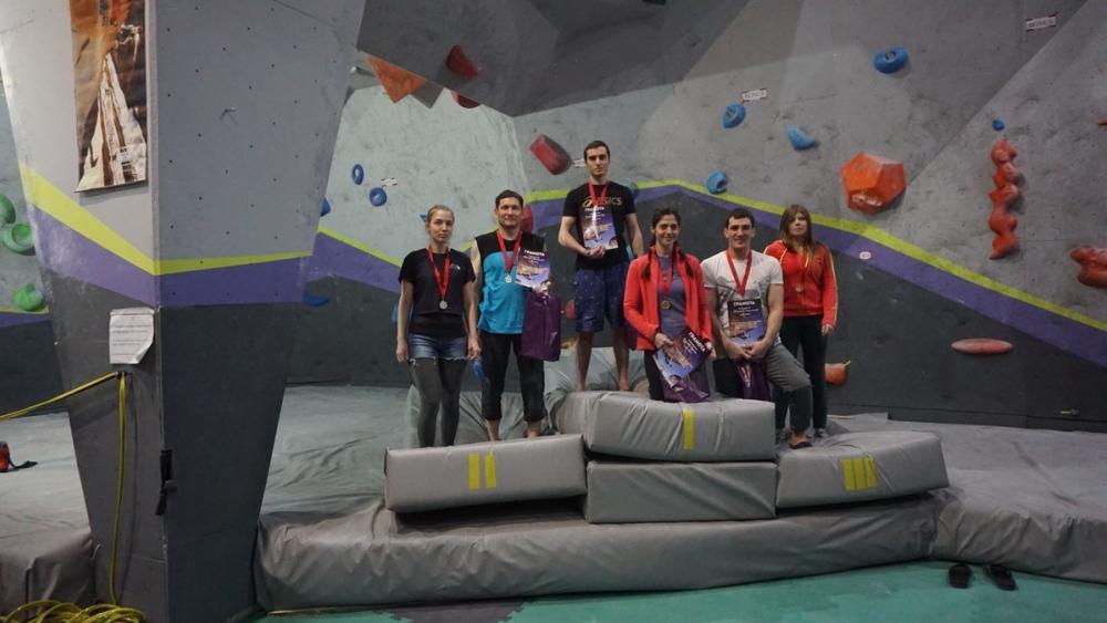 Скалолазы из Ставрополья приняли участие в соревнованиях во Владикавказе