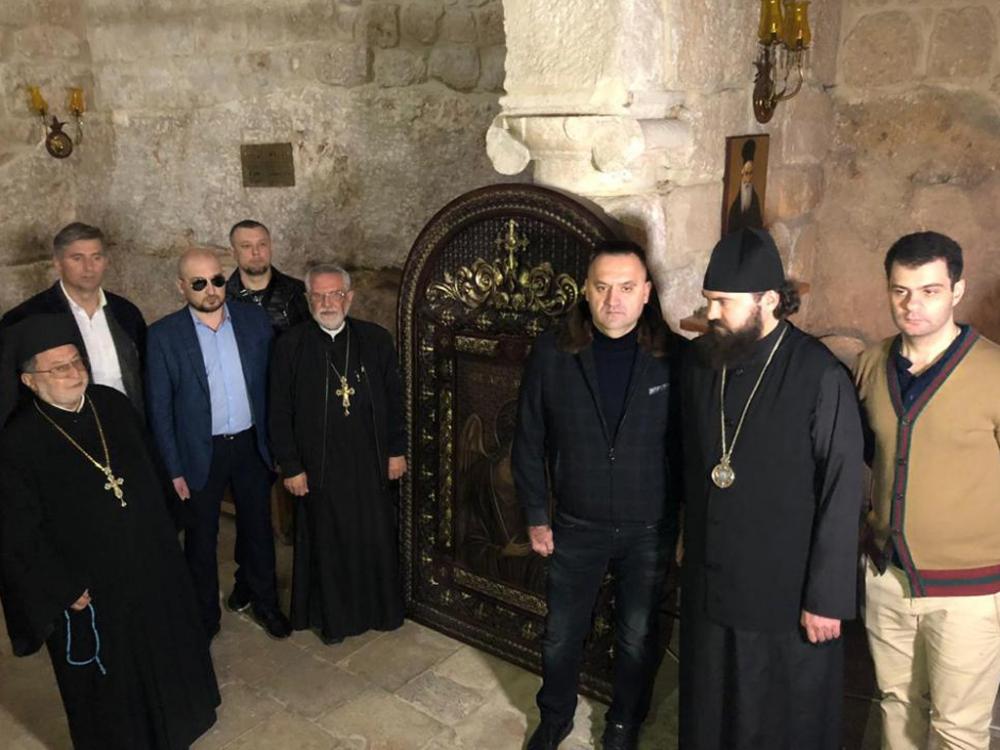Более 20 икон «Православной мастерской Захарченко» передадут в дар церквям Сирии