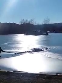 В Пятигорске школьница провалилась под лед