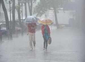 Экстренное предупреждение о сильных дождях с градом и шквалом объявлено на Ставрополье