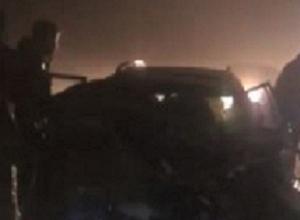 В страшной аварии столкнулись «ВАЗ» и иномарка на Ставрополье