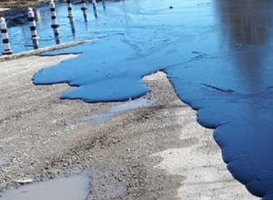 Прокуратура проверяет, почему почти сто тонн битума вылилось на дорогу в Лермонтове