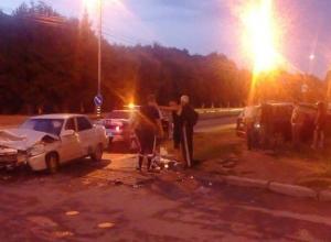 Лобовое столкновение произошло в Ессентуках
