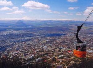 Календарь: 45 лет со дня проектирования канатной дороги на гору Машук