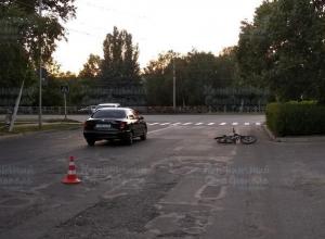 Велосипедист попал под колеса автомобиля в Ставрополе
