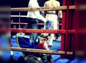 Боксер из Пятигорска дважды отправил в нокдаун крепкого соперника в Англии