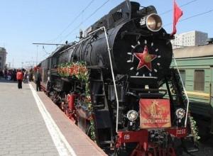 Поезд на паровой тяге «Победа» прибудет в Пятигорск