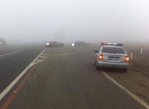 Два человека пострадали в жестком ДТП с «БМВ» и «Москвичом» на Ставрополье