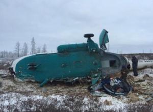 Два человека погибли при крушении вертолета в Ставропольском крае