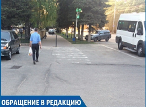 «Водители просто не замечают пешеходов на месте, где стоит светофор», - жительница Ставрополя