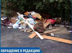 «Контейнеры для мусора убрали, а мусор остался, и где порядок?», - житель Ставрополя