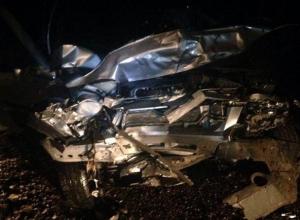 Девушка погибла в чудовищном столкновении «Волги» и «Нивы» на Ставрополье