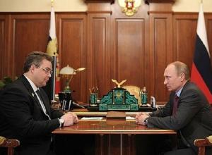 Губернатор Ставрополья обрадовался выдвижению Путина в президенты РФ