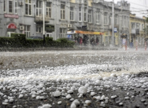 Сильный ливень с градом накроет Ставрополье 26 мая