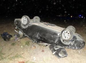 26-летний водитель «Приоры» из Дагестана вылетел в кювет и погиб на Ставрополье