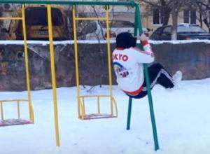 Забавный и умопомрачительный паркур показал житель Буденновска