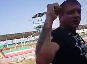 Александр Емельяненко передал привет Ставрополю из Чечни