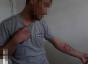Отказавшийся повиноваться арестант изрезал себе руки лезвием в знак протеста на Ставрополье