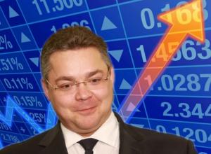 Акции Владимира Владимирова выросли после встречи с главой Минкавказа