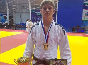 Дзюдоист из Железноводска завоевал золото на Всероссийском турнире