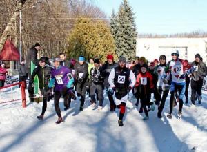 Новогодние соревнования по дуатлону прошли в Ставрополе