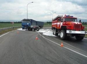 В ДТП на Ставрополье погибла женщина-водитель