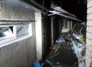 Появилось видео с места ликвидации трех боевиков в центре Ставрополя