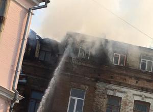 Жилой дом с библиотекой вспыхнул в Кисловодске