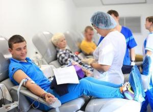 Более сотни ставропольцев ежедневно делятся своей кровью