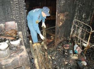 Найденные в сгоревшем доме женщина и мужчина были жестоко убиты, - Следственный комитет Ставрополья