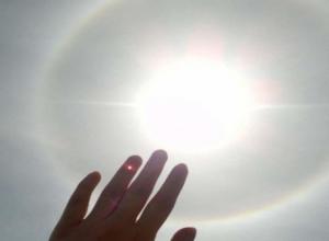 Ждать сильного града заставила ставропольцев необычная радуга в небе
