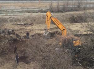 Вырубкой деревьев и строительством жилого комплекса в прибрежной зоне реки Подкумок возмутились ессентучане