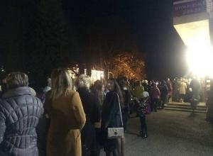 «Окультуриванием» назвали огромную очередь в филармонию в Кисловодске