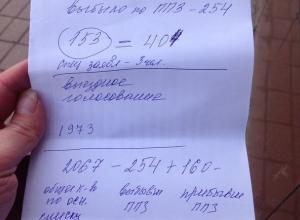 Почти две тысячи человек проголосовали по выездному голосованию на участке в КЧР